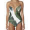 Beach riot x stone cold fox gally cool one piece - palm