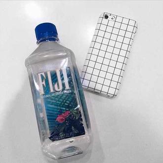 phone case grunge grid fiji phone