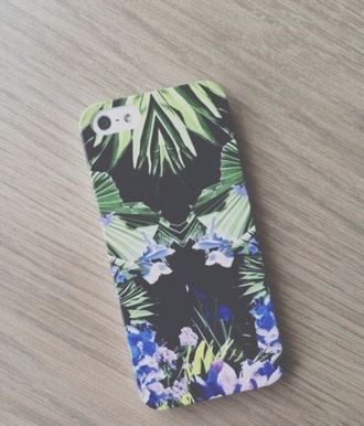 phone cover iphone hawiian print plam trees