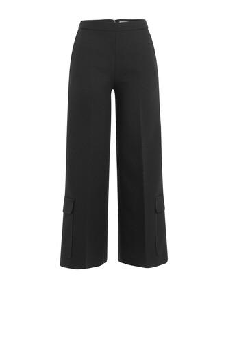 culottes black pants