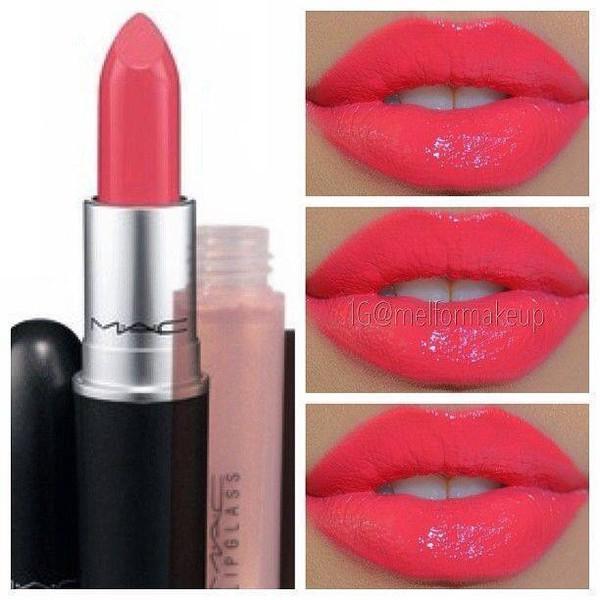 Make-up, Bright Pink, Mac Cosmetics, Cute, Girly, Pink
