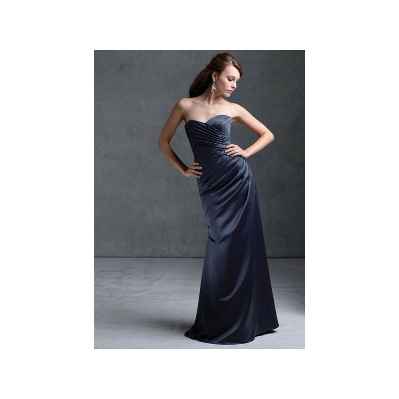 Mori Lee Bridesmaids 672 Strapless Satin Fit and Flare Bridesmaid Dress - Crazy Sale Bridal Dresses|Special Wedding Dresses|Unique 2018 New Style Dresses