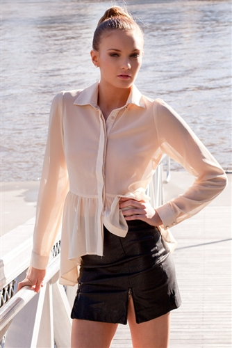 Shop Fashion Avenue - Zip It Skirt