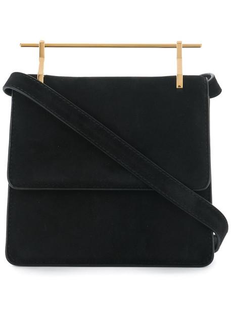 M2malletier mini women bag mini bag suede black