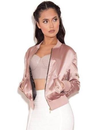 jacket nude pink bomber jacket pink bomber jacket