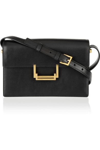 Saint Laurent | Lulu leather shoulder bag | NET-A-PORTER.COM