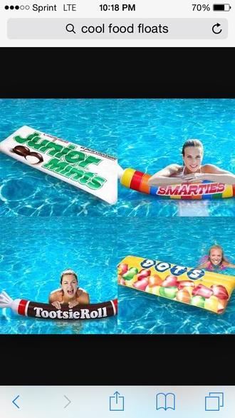 home accessory doughnut float pool accessory food