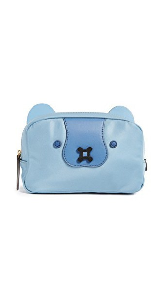 Anya Hindmarch pouch blue bag