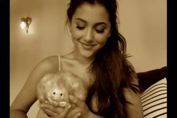 tank top beautiful perfect smile hair eyes ariana grande