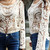 Embroidery Crotchet Floral Laced Blouse – Club Honorée