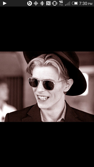 david bowie hat
