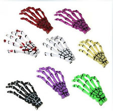 9 Color Hair Clips Hairpin Skeleton Hand Bone Hair Clips | eBay