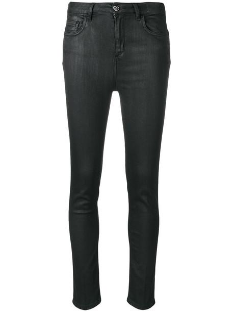 Twin-Set jeans skinny jeans women spandex cotton black