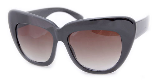 CORFU black  |  cat eye sunglasses