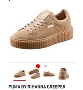 shoes,rihanna,rihanna pumas,rihanna puma,rihanna style,sneakers,puma,puma sneakers,creepers,mens shoes