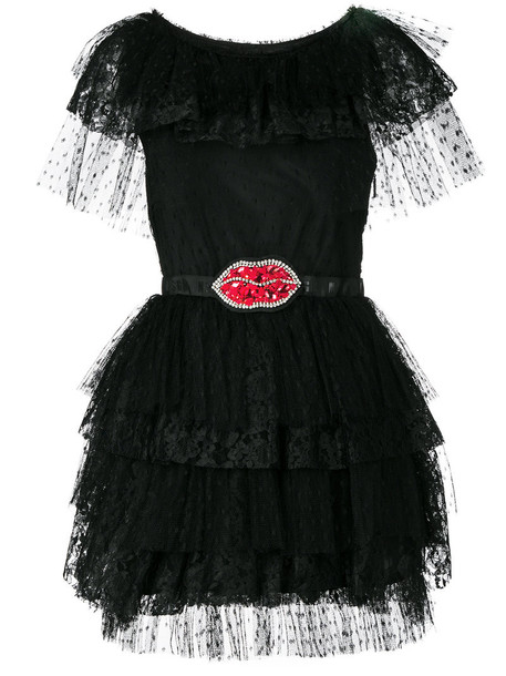 dress women lips black