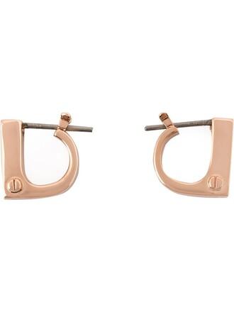 earrings purple pink jewels