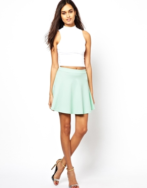 Club L | Club L Skater Skirt at ASOS