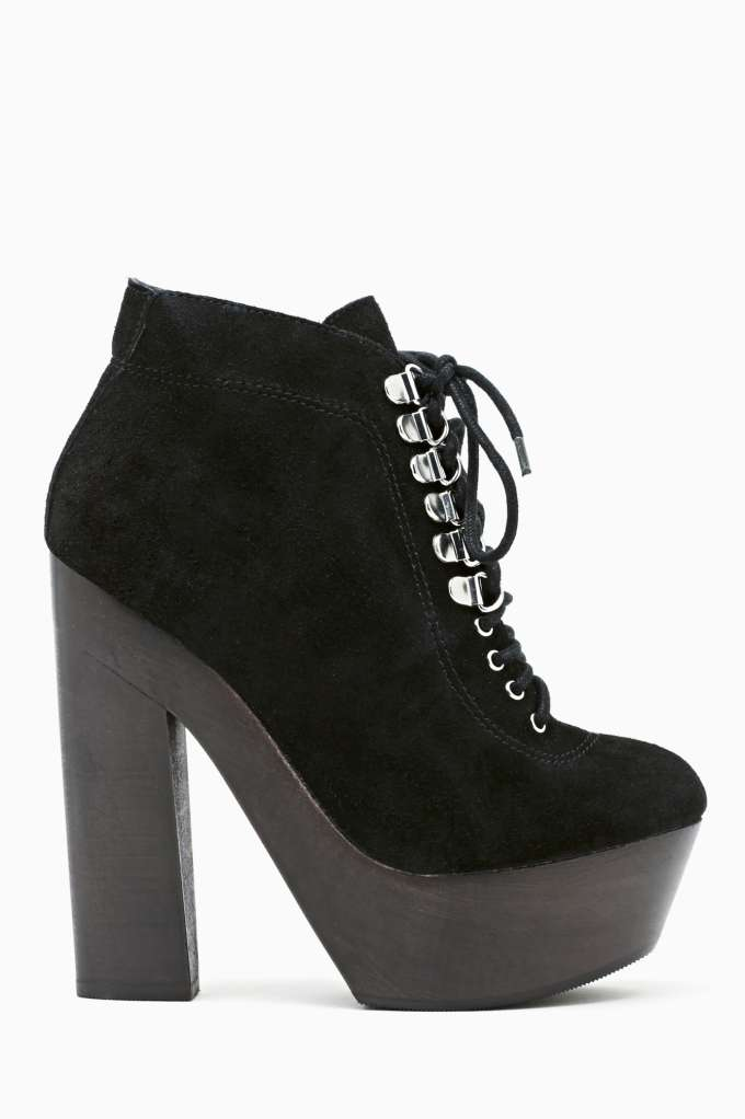 Grey City Georgia Platform Boot in  Don't Miss at Nasty Gal