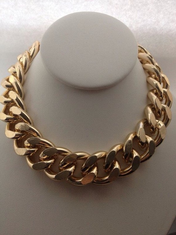 jewels thick chain thick link gold chain chain link chain necklace gold chain necklace gold chain necklace gold tone link necklace
