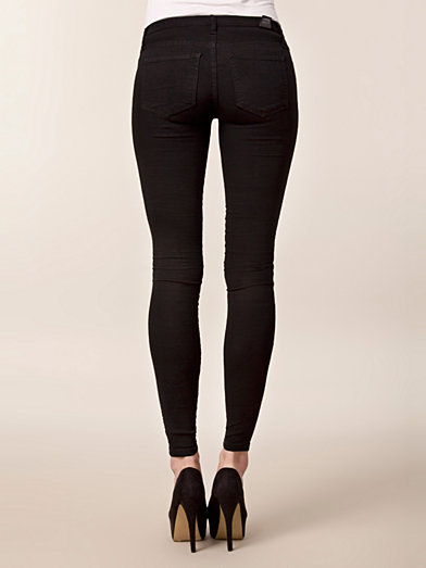Kissy Denim Leggings - Dr Denim - Svart - Jeans - Kläder - Kvinna - Nelly.com