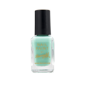 Barry m nail polish mint green           at     superdrug