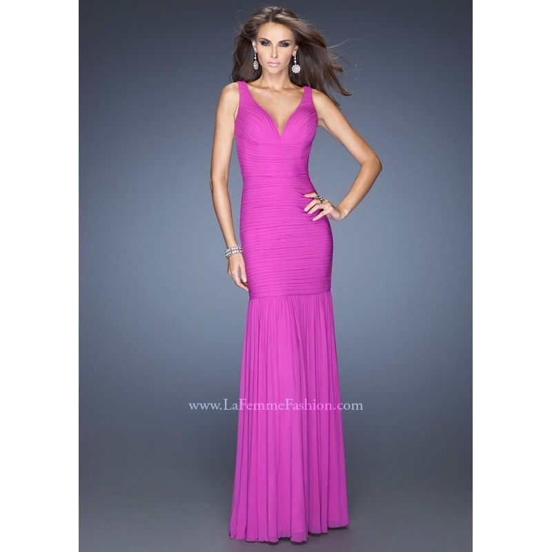 La Femme 19678 Mermaid Evening Gown Website Special - 2017 Spring Trends Dresses Beaded Evening Dresses Prom Dresses on sale