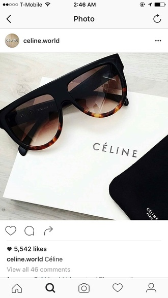 sunglasses celine