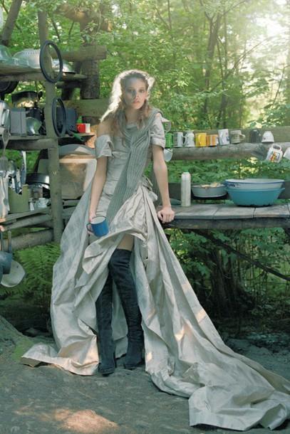 dress Freja Beha vogue