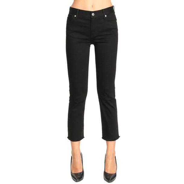 Burberry jeans women black