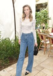 jeans,top,denim,jaime king,spring outfits