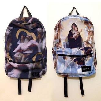 bag grunge backpack