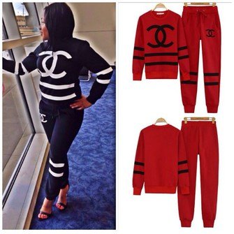 Related image with coco chanel jogging suit