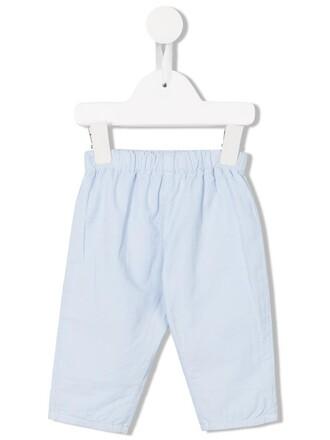 girl blue pants