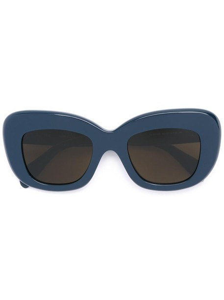 women sunglasses blue