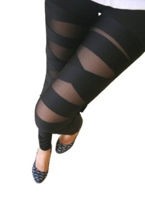 Amazon.com: Keral Ankle Length Footless Legging Tregging: Clothing