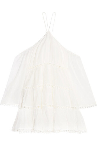 dress mini dress mini cold white cotton