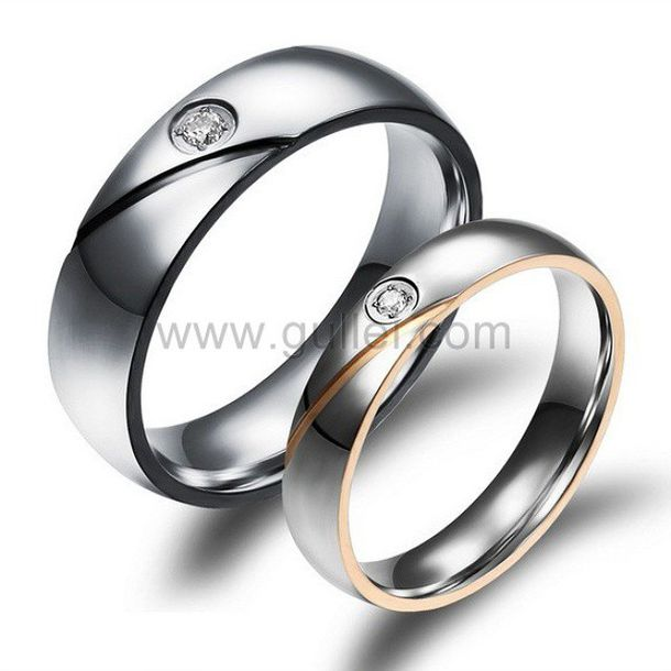 Jewels gulleicom black titanium rings matching titaniium rings