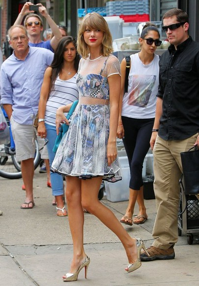 shoes taylor swift dress