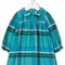 Knot 'hubble' check dress, infant girl's, size: 6 mth, blue
