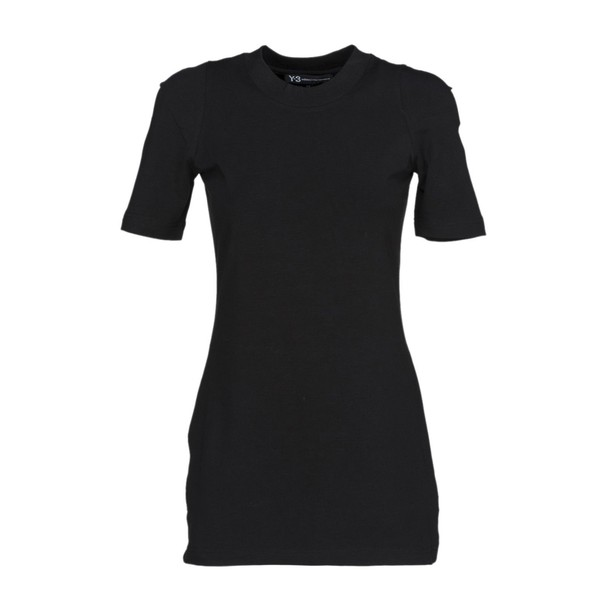 Y-3 t-shirt shirt t-shirt long black top