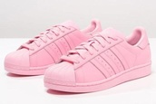 shoes,adidas superstars,pink sneakers,adidas supercolor,adidas shoes,baby pink,adidas,superstar,light pink,pink