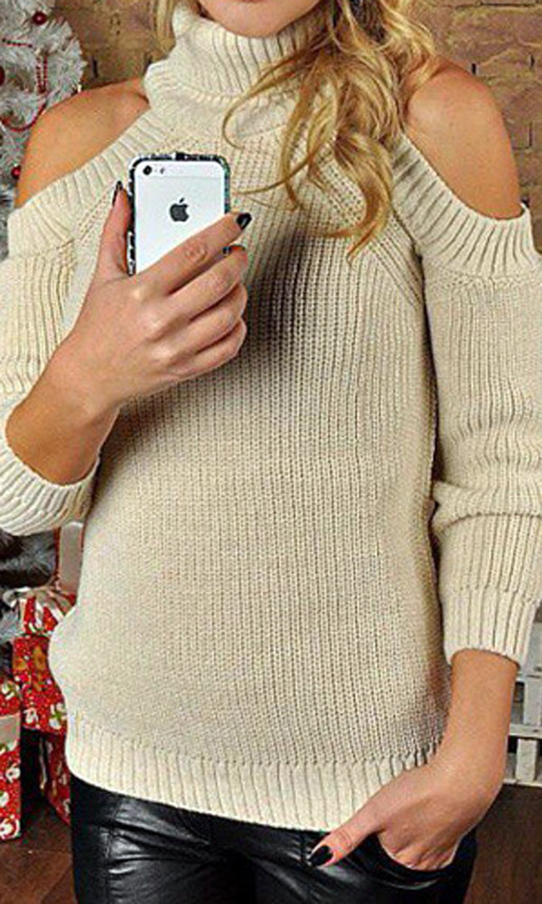 sweater sweat the style sweatshirt sweater weather grey sweater oversized sweater winter sweater cute cute top cute outfits cut out crop top off the shoulder office outfits off the shoulder sweater off-white model off-duty outfit outfit idea fall outfits tumblr outfit winter outfits urban outfitters