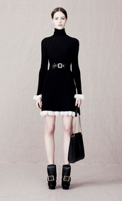 dress,fashion,lookbook,alexander mcqueen,bag