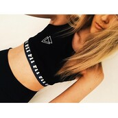 top,style,t-shirt,shirt,black t-shirt,black crop top,white t-shirt,white top,cool shirts,cool,cute,cropped