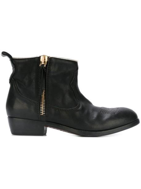 GOLDEN GOOSE DELUXE BRAND women boots black shoes