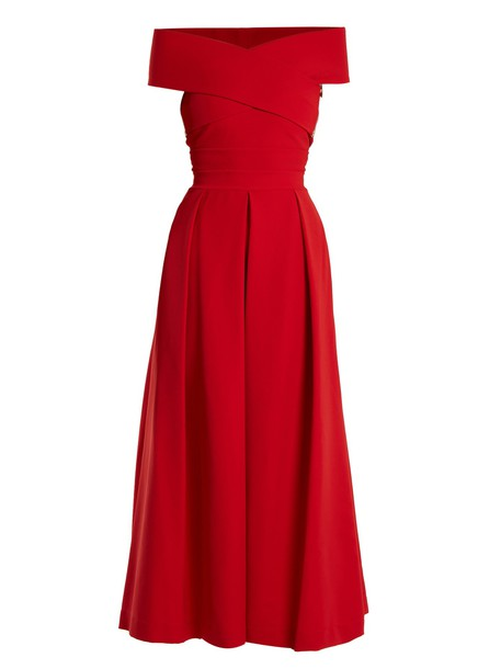 PREEN BY THORNTON BREGAZZI dress red