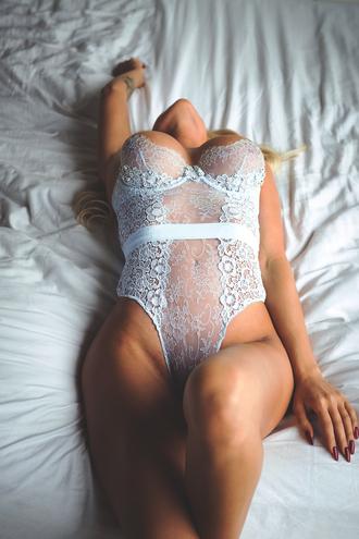 underwear lace white white lace teddy