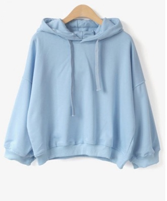 sweater girly blue jumper hoodie
