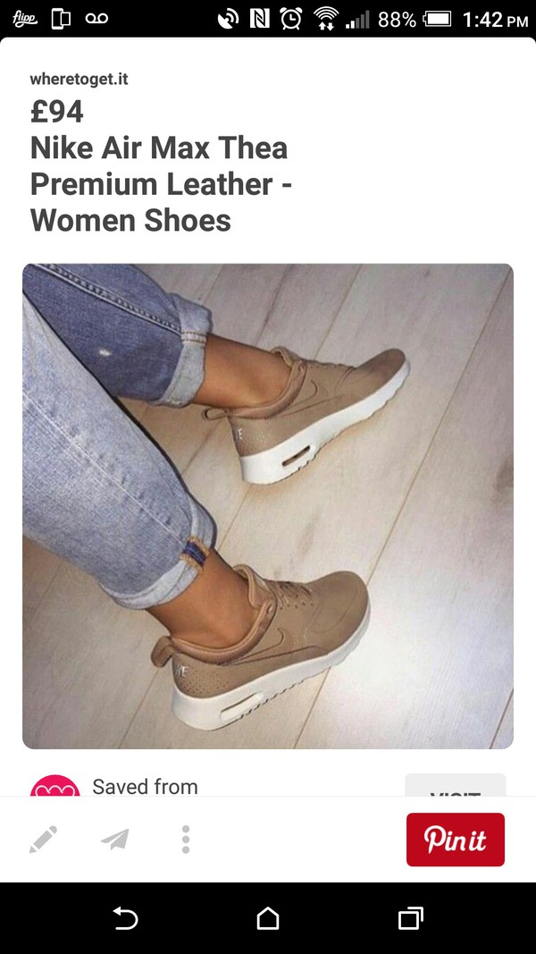 shoes nike shoes nude sneakers low top sneakers